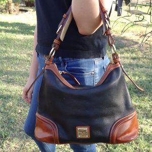 Dooney & Bourke Pebble Leather Shoulder Bag